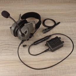 FCS AMP headsets w V60 PTT...