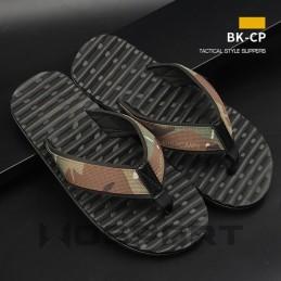 Tactical style flip flops