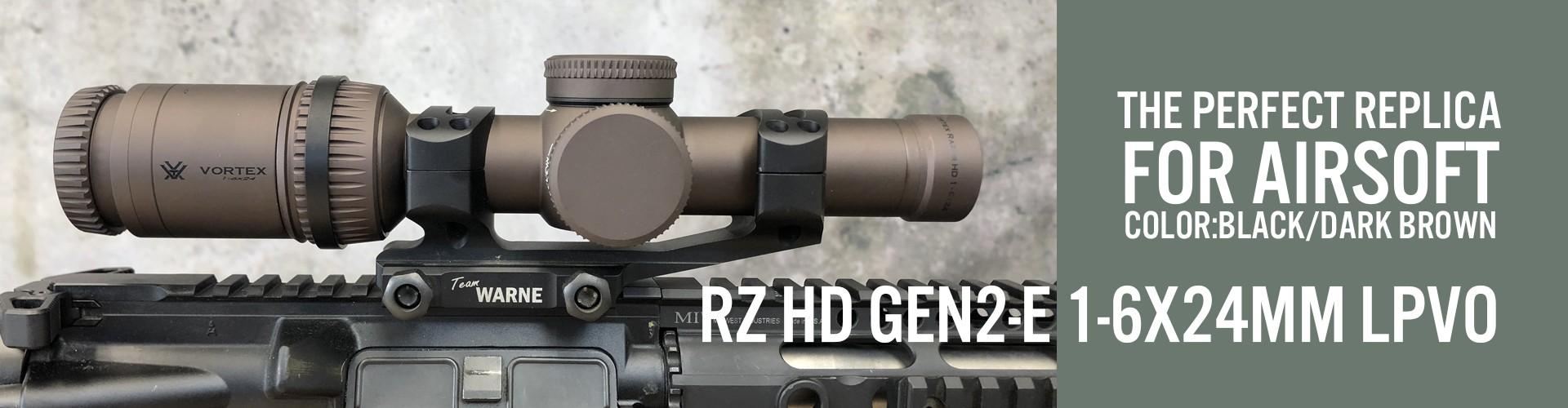 RZ HD GEN2-E 1-6X24mm LPVO
